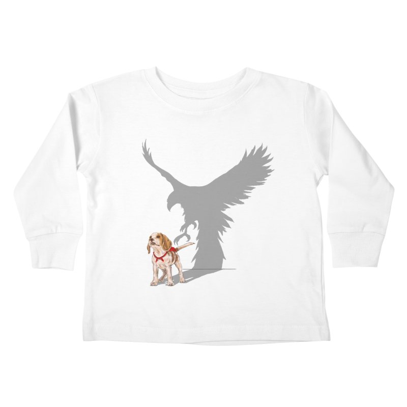 Be Eagle Kids Toddler Longsleeve T-Shirt by kooky love's Artist Shop