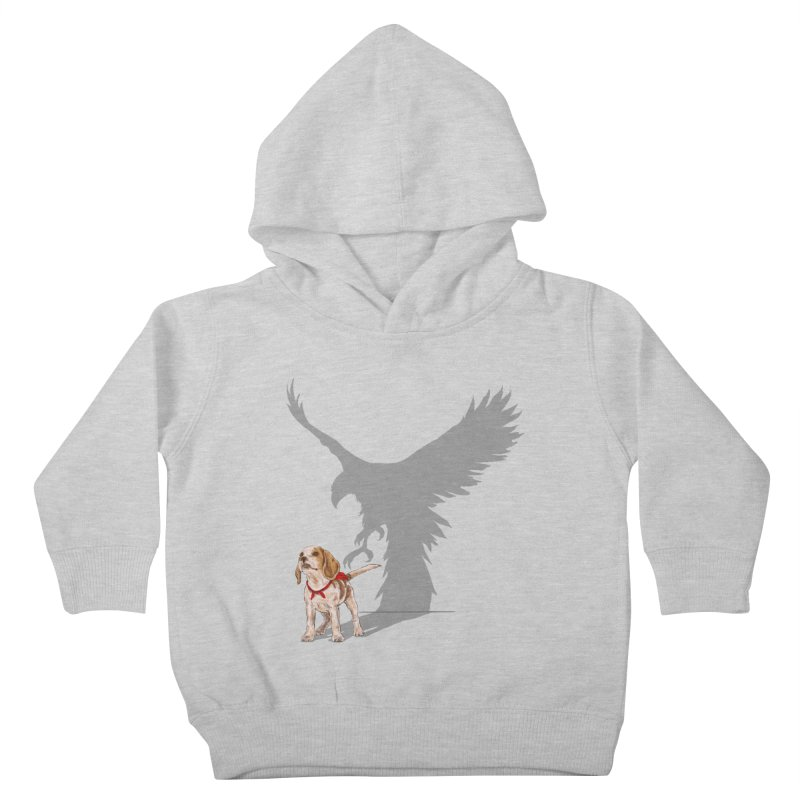 Be Eagle Kids Toddler Pullover Hoody by kooky love's Artist Shop