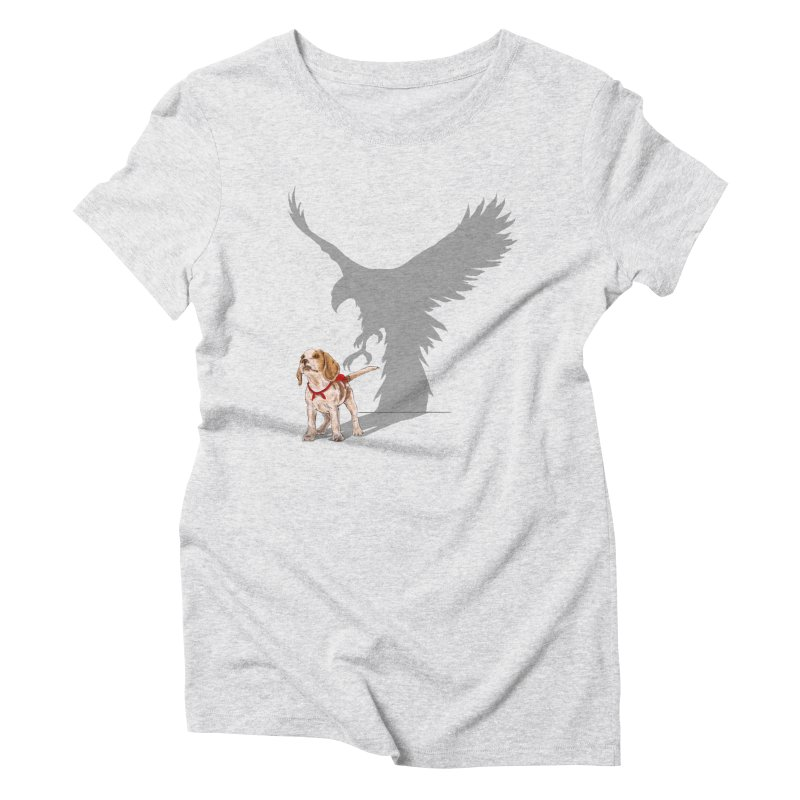 Be Eagle Women's Triblend T-shirt by kooky love's Artist Shop