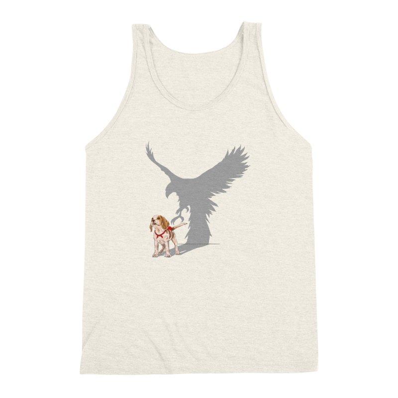 Be Eagle Men's Triblend Tank by kooky love's Artist Shop