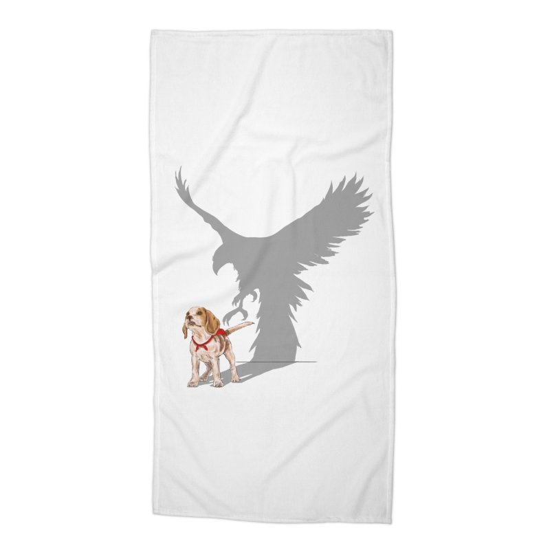 Be Eagle Accessories Beach Towel by kooky love's Artist Shop