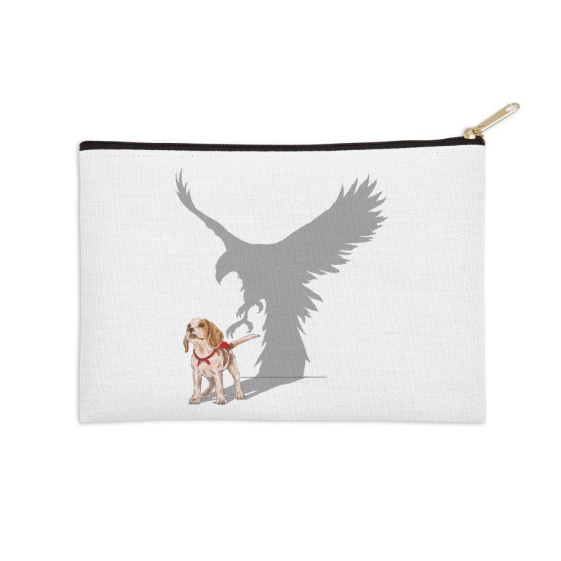 Be Eagle Accessories Zip Pouch by kooky love's Artist Shop