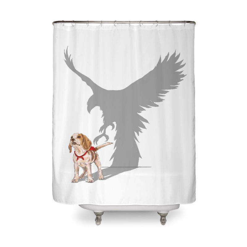 Be Eagle Home Shower Curtain by kooky love's Artist Shop
