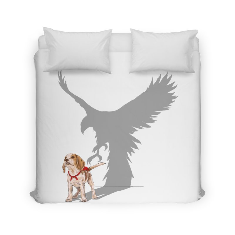 Be Eagle Home Duvet by kooky love's Artist Shop