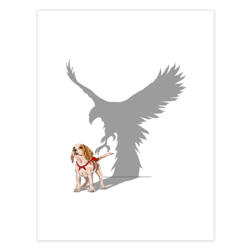 Be Eagle Home Fine Art Print by kooky love's Artist Shop