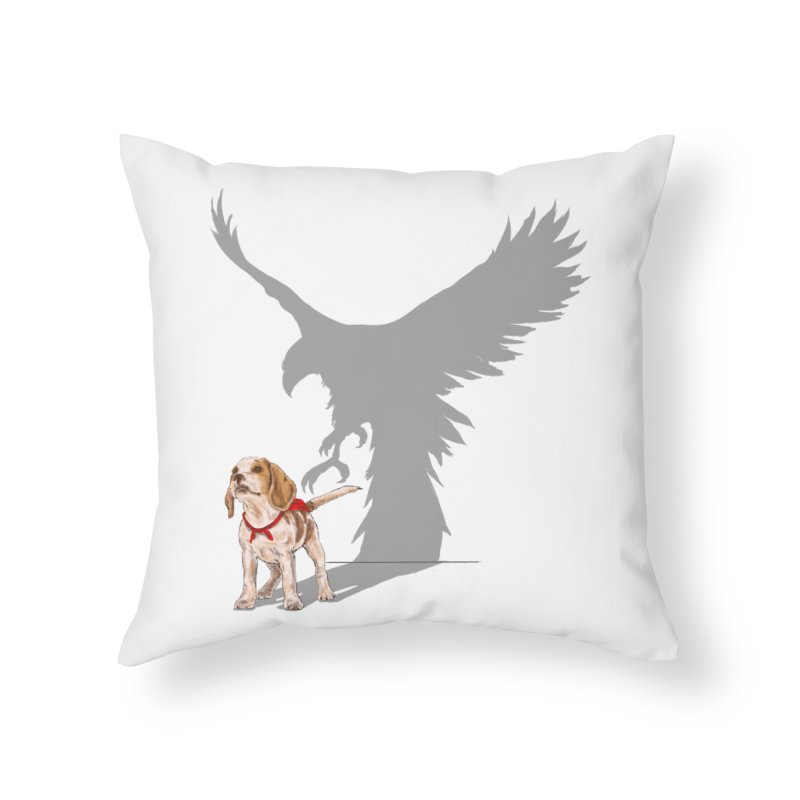 Be Eagle Home Throw Pillow by kooky love's Artist Shop
