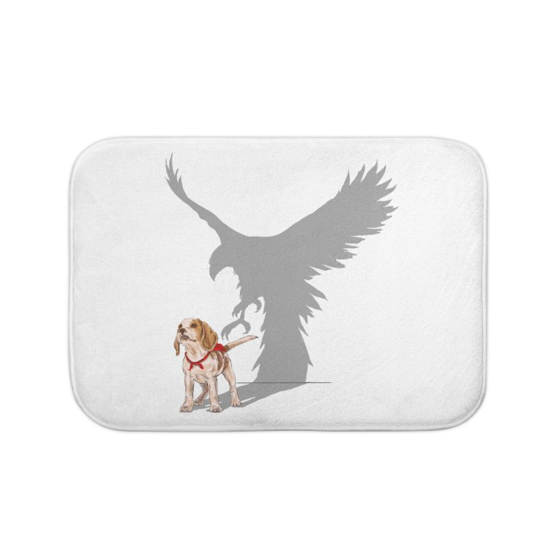 Be Eagle Home Bath Mat by kooky love's Artist Shop