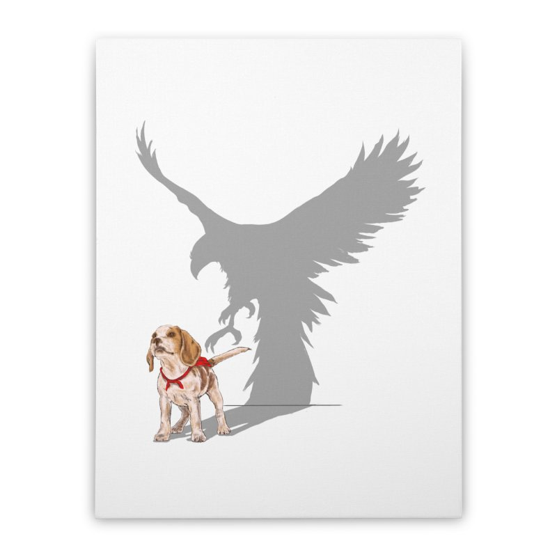 Be Eagle Home Stretched Canvas by kooky love's Artist Shop