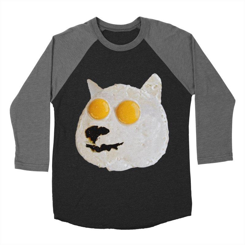 Sunny Shiba Men's Baseball Triblend T-Shirt by kooky love's Artist Shop