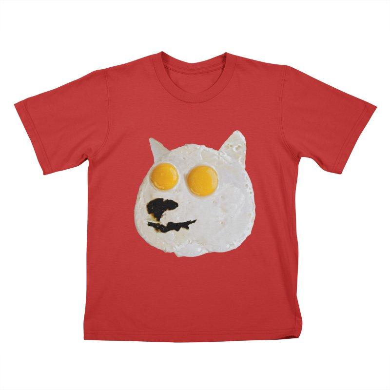 Sunny Shiba Kids T-shirt by kooky love's Artist Shop