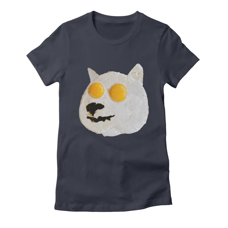Sunny Shiba Women's Fitted T-Shirt by kooky love's Artist Shop