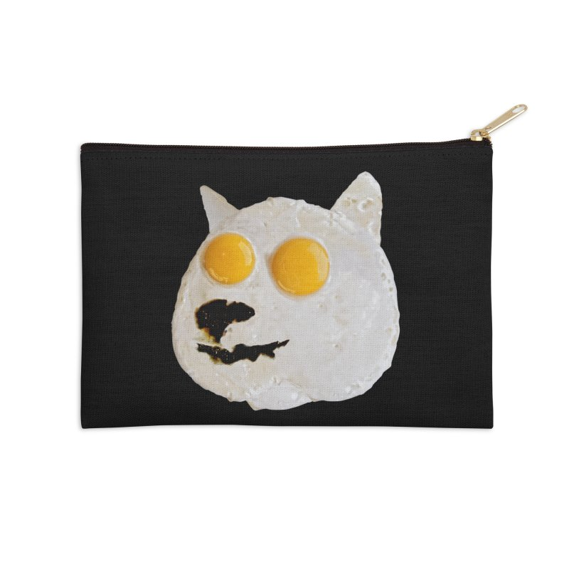 Sunny Shiba Accessories Zip Pouch by kooky love's Artist Shop