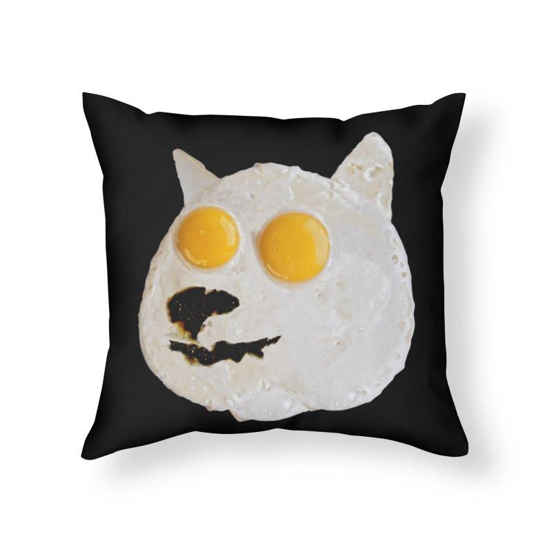 Sunny Shiba Home Throw Pillow by kooky love's Artist Shop