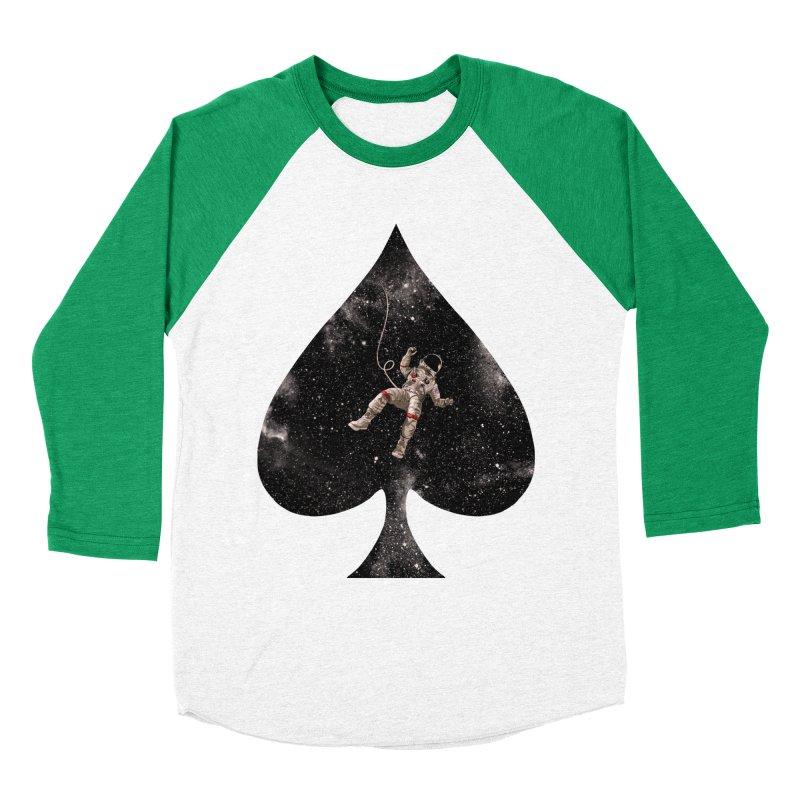 Lost in Spade Men's Baseball Triblend T-Shirt by kooky love's Artist Shop