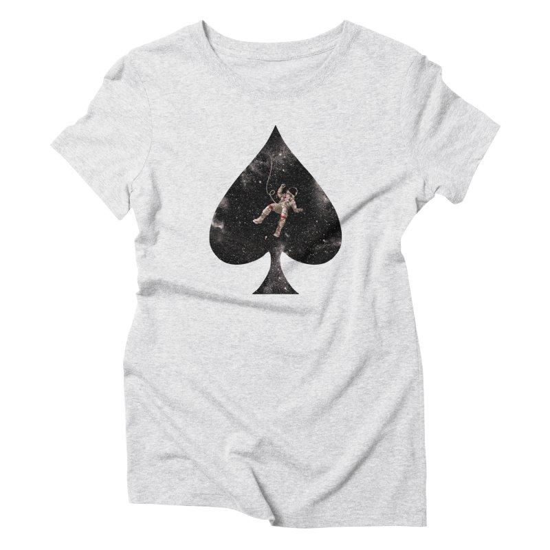 Lost in Spade Women's Triblend T-shirt by kooky love's Artist Shop