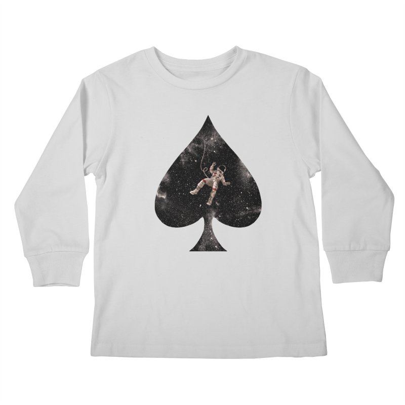 Lost in Spade Kids Longsleeve T-Shirt by kooky love's Artist Shop