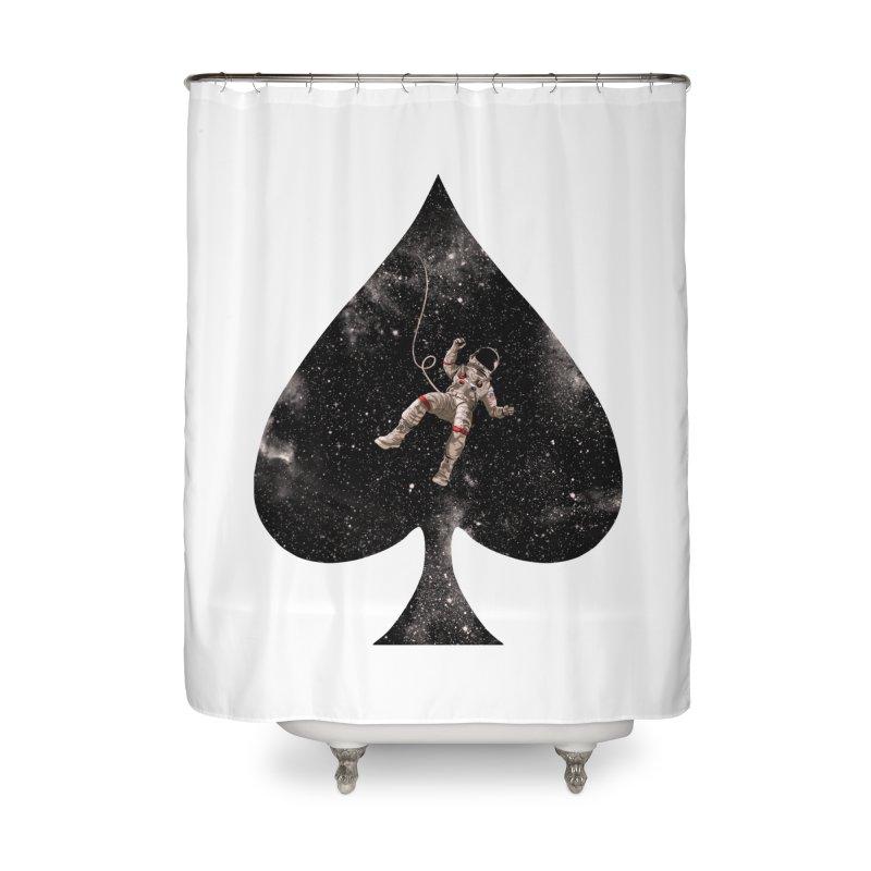 Lost in Spade Home Shower Curtain by kooky love's Artist Shop