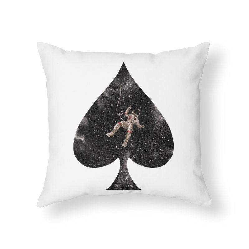 Lost in Spade Home Throw Pillow by kooky love's Artist Shop