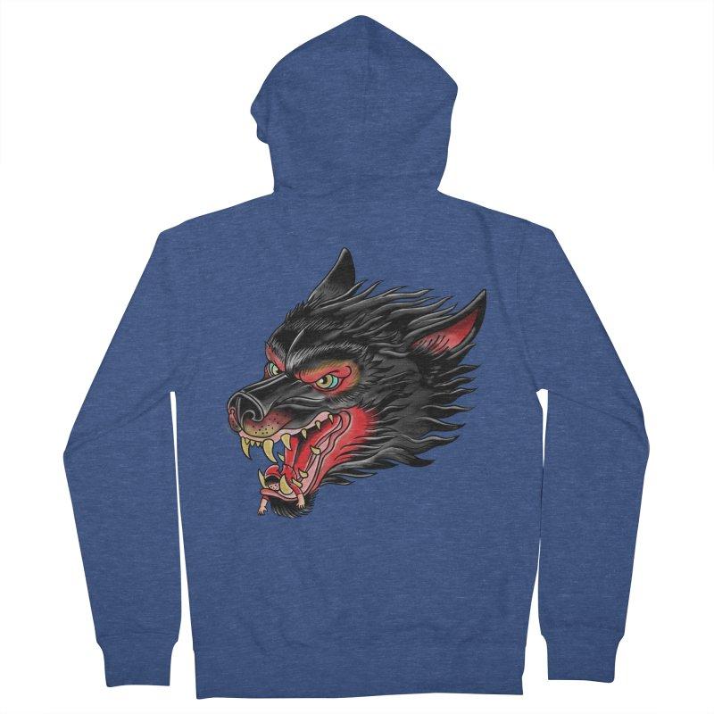 Its tongue is her hoodie Men's Zip-Up Hoody by kooky love's Artist Shop