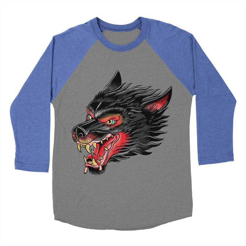 Its tongue is her hoodie Men's Baseball Triblend T-Shirt by kooky love's Artist Shop