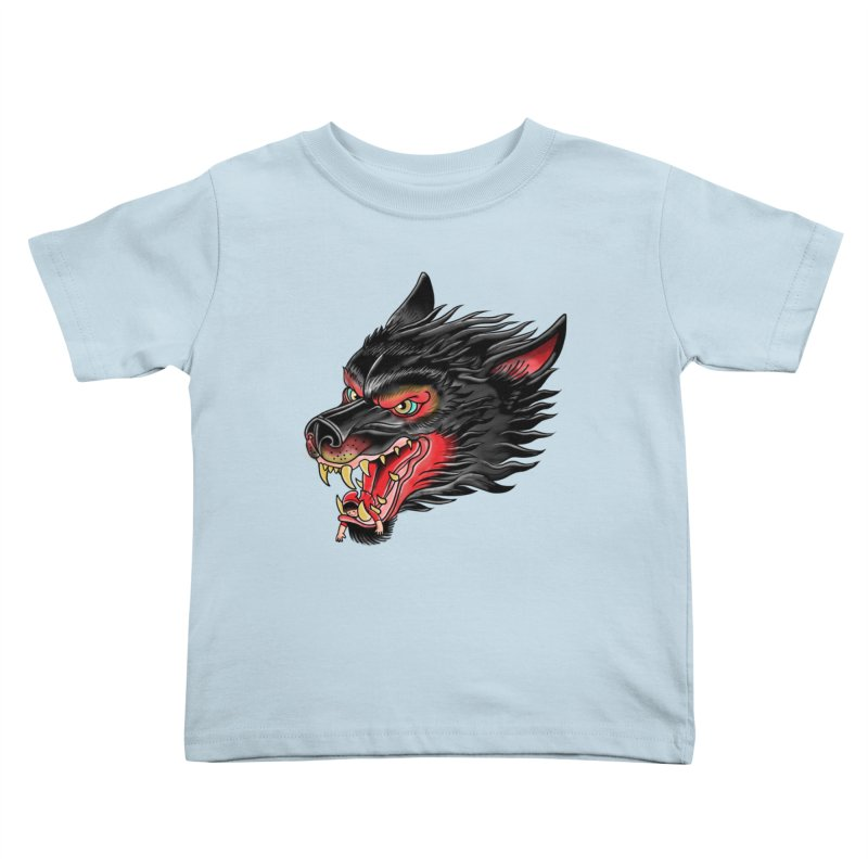 Its tongue is her hoodie Kids Toddler T-Shirt by kooky love's Artist Shop