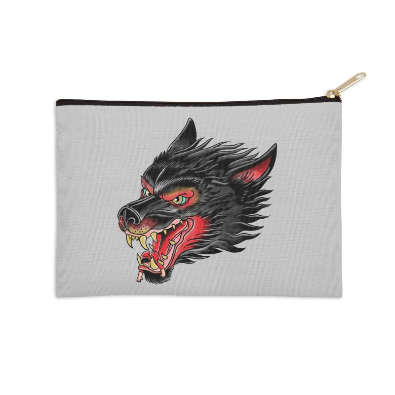 Its tongue is her hoodie Accessories Zip Pouch by kooky love's Artist Shop