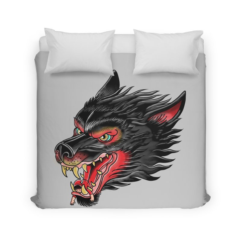 Its tongue is her hoodie Home Duvet by kooky love's Artist Shop