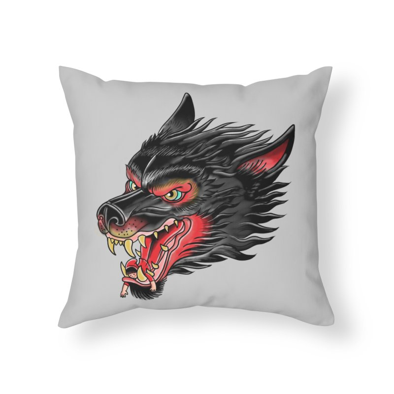 Its tongue is her hoodie Home Throw Pillow by kooky love's Artist Shop