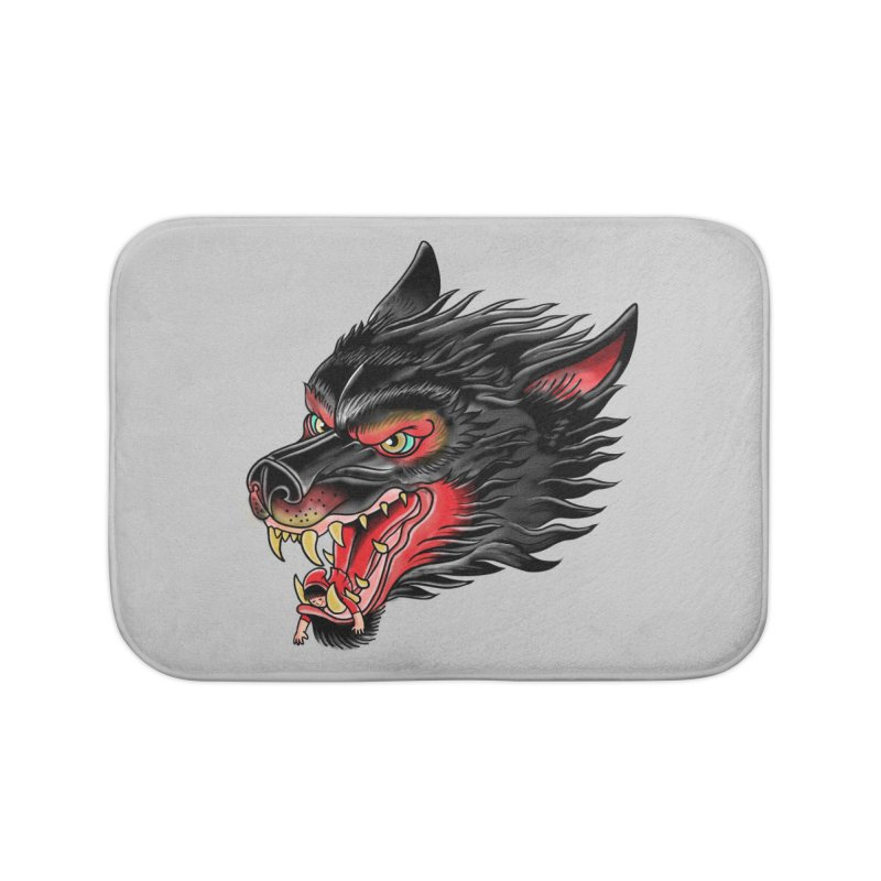Its tongue is her hoodie Home Bath Mat by kooky love's Artist Shop
