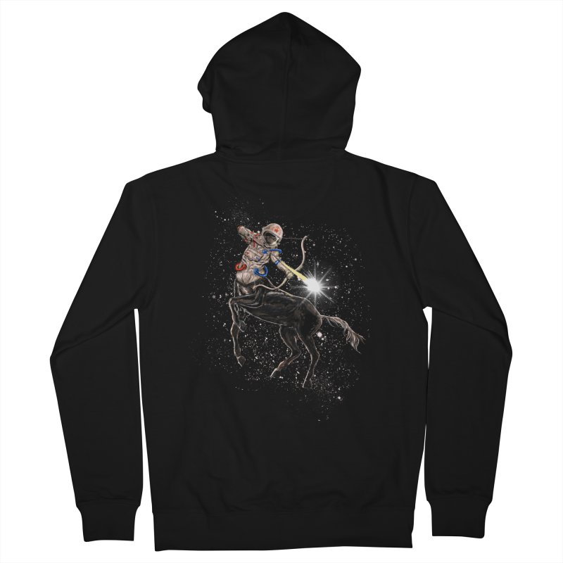 Horsescope Men's Zip-Up Hoody by kooky love's Artist Shop