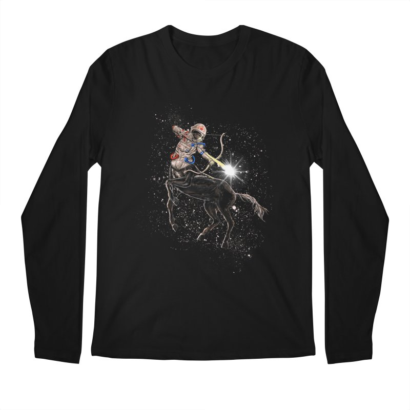 Horsescope Men's Regular Longsleeve T-Shirt by kooky love's Artist Shop