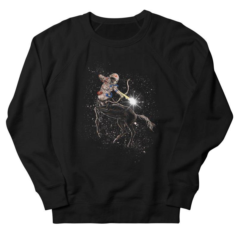 Horsescope Men's French Terry Sweatshirt by kooky love's Artist Shop
