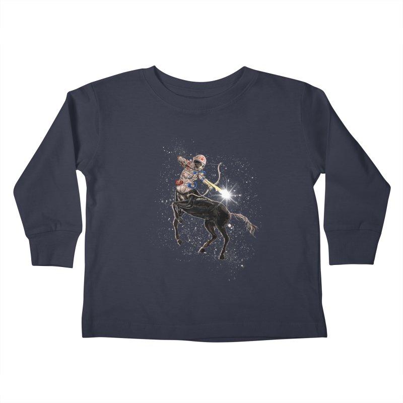 Horsescope Kids Toddler Longsleeve T-Shirt by kooky love's Artist Shop