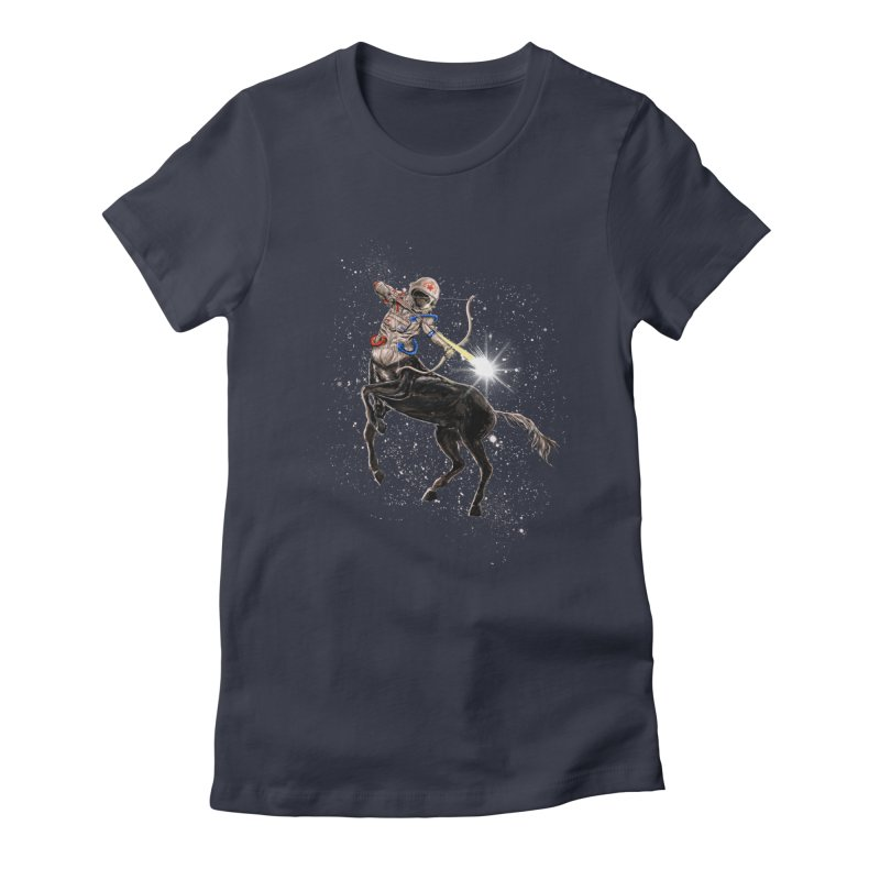 Horsescope Women's Fitted T-Shirt by kooky love's Artist Shop