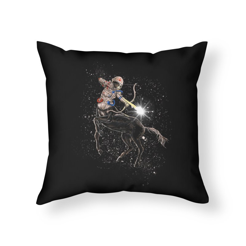 Horsescope Home Throw Pillow by kooky love's Artist Shop