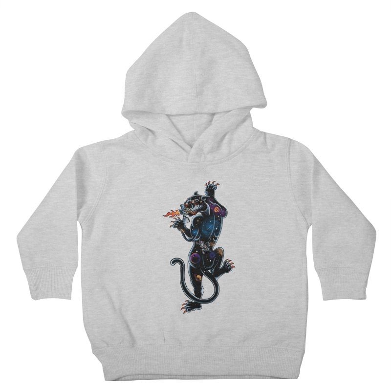 Space Panther Kids Toddler Pullover Hoody by kooky love's Artist Shop