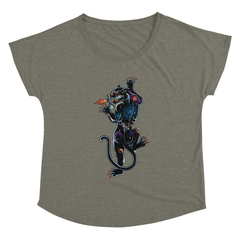 Space Panther Women's Dolman by kooky love's Artist Shop