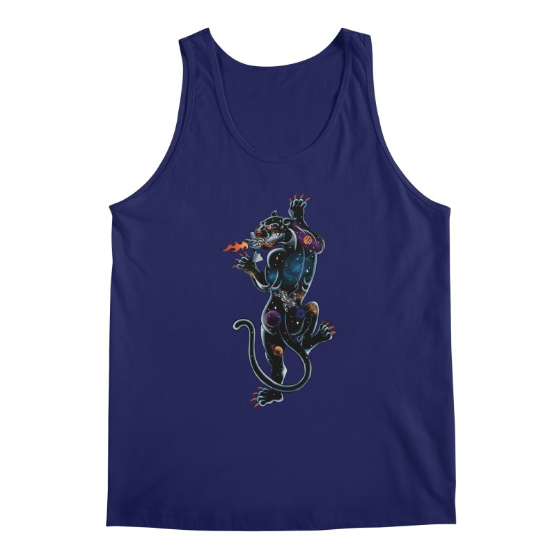 Space Panther Men's Tank by kooky love's Artist Shop