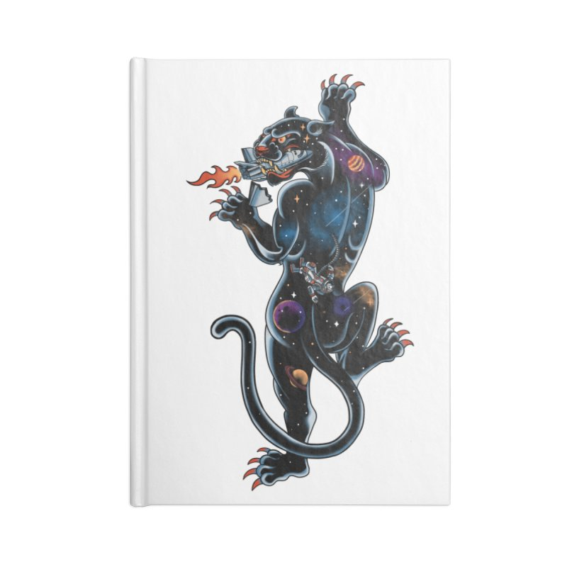 Space Panther Accessories Notebook by kooky love's Artist Shop