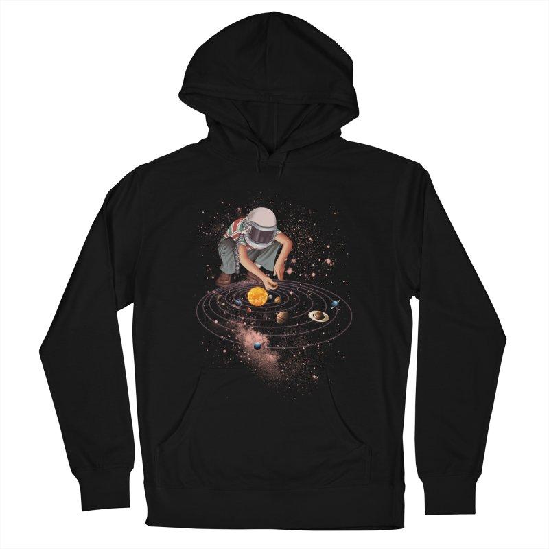 Marble Planet Men's Pullover Hoody by kooky love's Artist Shop