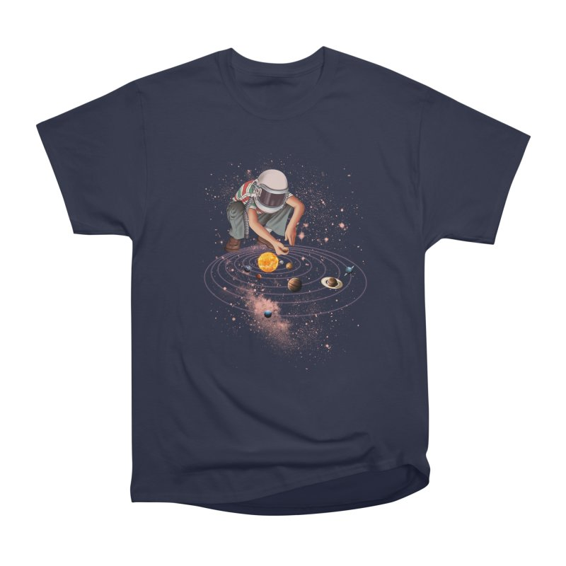 Marble Planet Women's Heavyweight Unisex T-Shirt by kooky love's Artist Shop