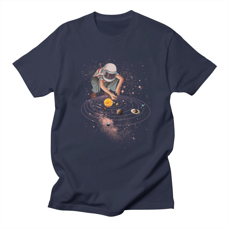 Marble Planet Men's Regular T-Shirt by kooky love's Artist Shop