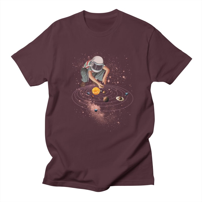 Marble Planet Women's Unisex T-Shirt by kooky love's Artist Shop
