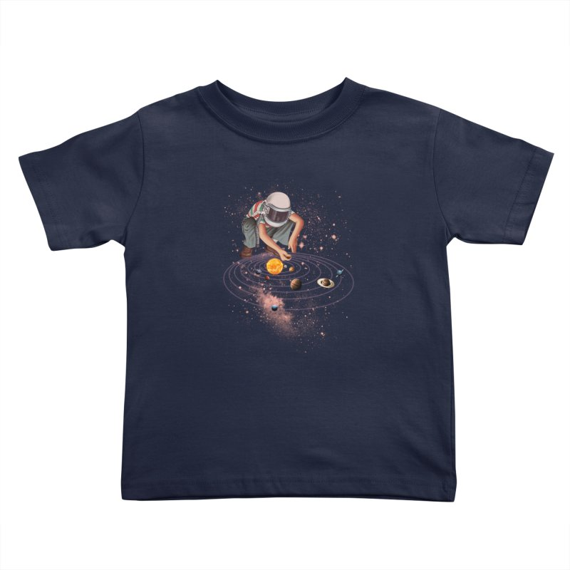 Marble Planet Kids Toddler T-Shirt by kooky love's Artist Shop