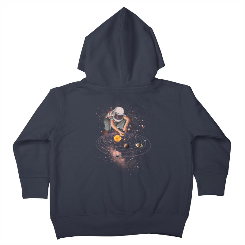 Marble Planet Kids Toddler Zip-Up Hoody by kooky love's Artist Shop