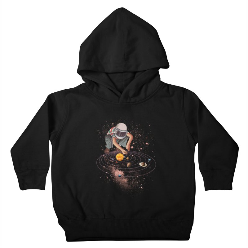 Marble Planet Kids Toddler Pullover Hoody by kooky love's Artist Shop