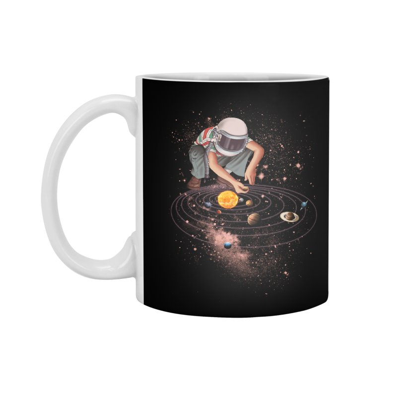 Marble Planet Accessories Mug by kooky love's Artist Shop