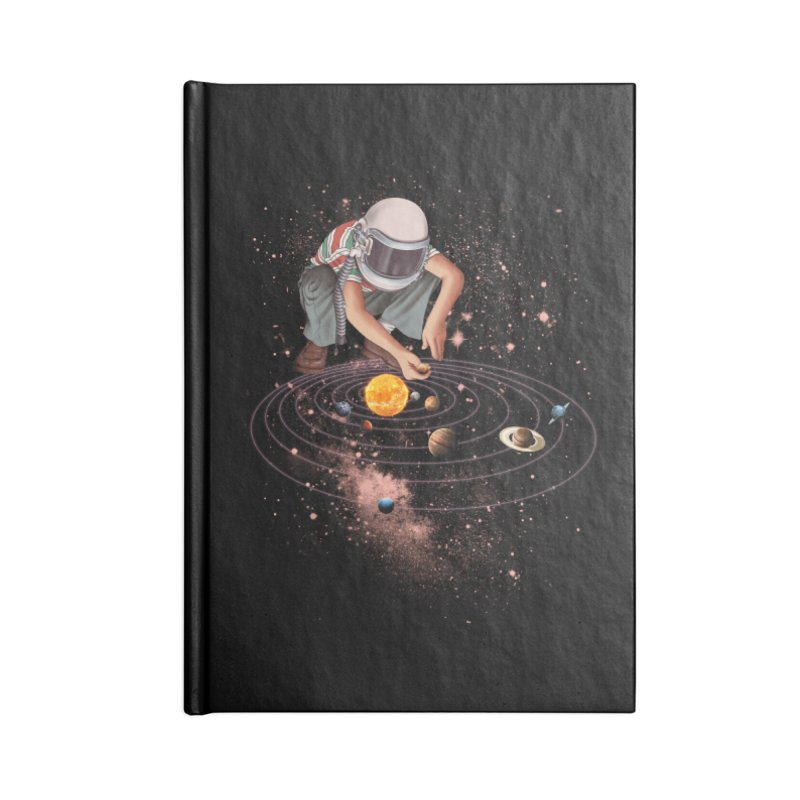 Marble Planet Accessories Notebook by kooky love's Artist Shop