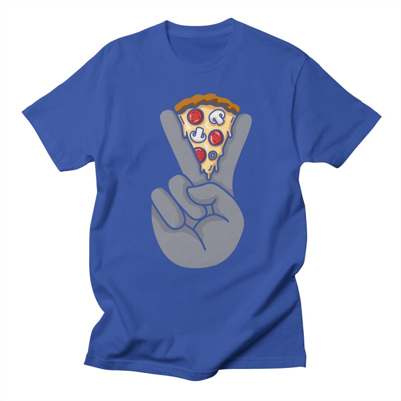 Peace & Pizza Men's Lounge Pants by kooky love's Artist Shop