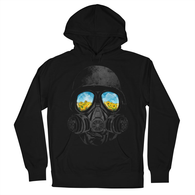 Longing to Breath Men's French Terry Pullover Hoody by kooky love's Artist Shop